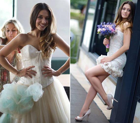 Az esküvői magazinban feltűnt énekesnők sorába Nagy Adri, a tavalyi megasztáros is beállt.