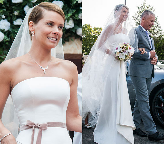 Osvárt Andrea színésznő a Megdönteni Hajnal Tímeát című filmben volt gyönyörű menyasszony. A százperces romantikus vígjáték 2014. február 14-én, Valentin-napon kerül a hazai mozikba.