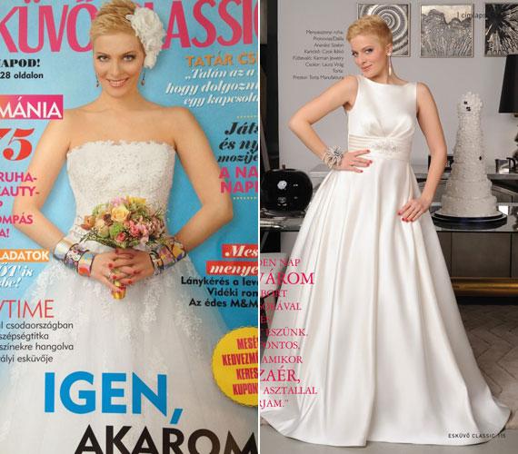 Tatár Csilla, a TV2 műsorvezetője már 2007 óta férjes asszony, ennek ellenére őt is felkérték a magazin címlapjára.