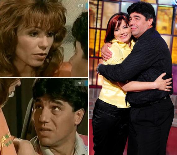 2006 nyarán a TV2 Frizbi című műsorában egy adás erejéig ismét együtt volt látható a képernyőn a sorozatbeli férjét, Vágási Ferit alakító Nemcsák Károllyal.