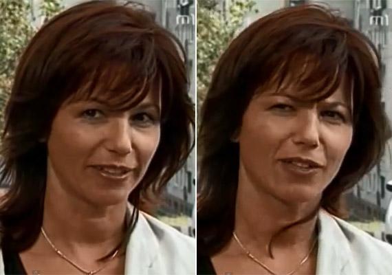 Így nézett ki a színésznő 1999-ben, a népszerű teleregény utolsó sugárzási évében. A tanítónő Jutka az első részhez képest 12 évvel volt idősebb.