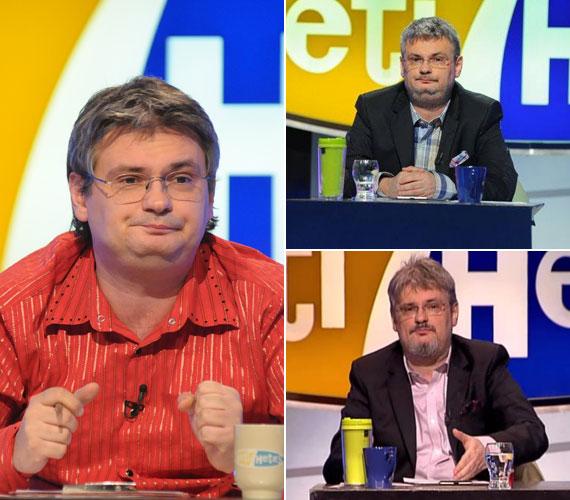 Amikor a közéleti szórakoztató műsor még az RTL Klubon futott, és a közelmúltban, amikor már azt az RTL II-n: Jáksó László októberben még csak borostásan vezette a műsort, majd szép lassan szakállt is növesztett. Mintha le is fogyott volna, bár lehet, hogy csak az arcszőrzet és az új frizura keskenyíti az arcát.