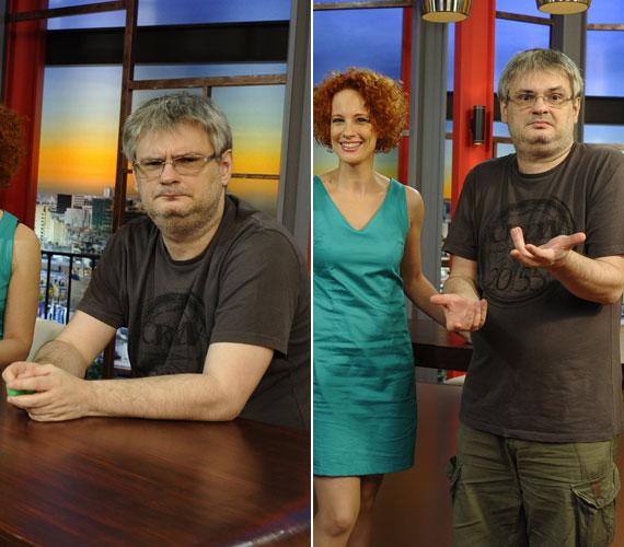 Júniusban még a régi Jáksó ugrott be Somogyi Zoltán helyére az RTL Klub 8:08 - Minden reggel című műsorában.