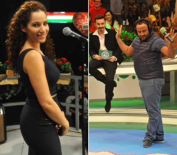 Vágó Bernadett, az Operettszínház színésznője mellett a nagy népszerűségnek örvendő Daniele Corrente is dalra fakad, akinek ugyan olasz pizzériája van, de imádja a rakott krumplit.