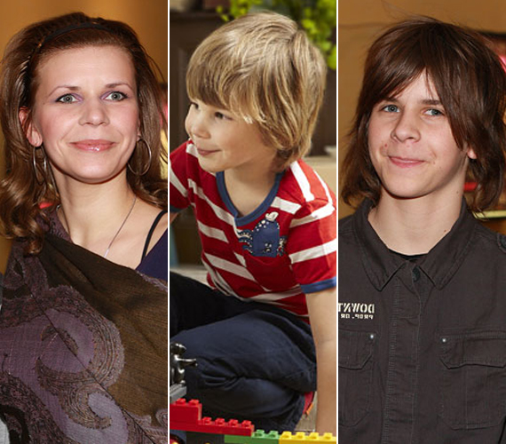 Schell Juditnak szintén két fia és egy lánya van. Férjétől, Schmied Zoltántól született egy kisfia, Boldizsár, aki idén hétéves, valamint egy lánya, Bori, aki még csak három lesz. Előző kapcsolatából is van egy fia, Lackó, aki már 19 éves.