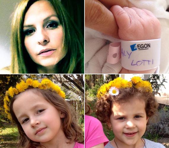 A 36 éves Fridel Fruzsina 2015 áprilisában adott életet harmadik lányának, Lottinak. A színésznő elmondhatatlanul boldog, hogy immár ötfős családban élnek.