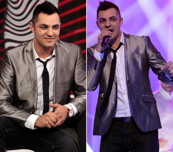 A Legenda férfi fellépője Oláh Gergő, a tavalyi X-Faktor győztese.