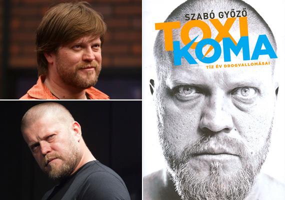 Szabó Győző a Beugróban még dús hajjal, majd a Centrál Színház színpadán már tövig borotvált hajjal. Könyve borítóján is rövidre tolt hajjal látható.