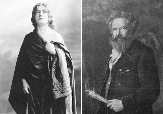 Az emlékiratokból - amelyek a színésznő halála után, 1927-ben jelentek meg - kiderült, hogy viszonya volt például a hat évvel fiatalabb Feszty Árpád festővel. Kapcsolatuk a férfi házassága miatt bomlott fel.