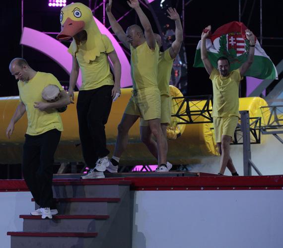 A magyar csapat 2014-ben is sárgában versenyez - a hét évad alatt ebben a színben háromszor arattunk győzelmet.