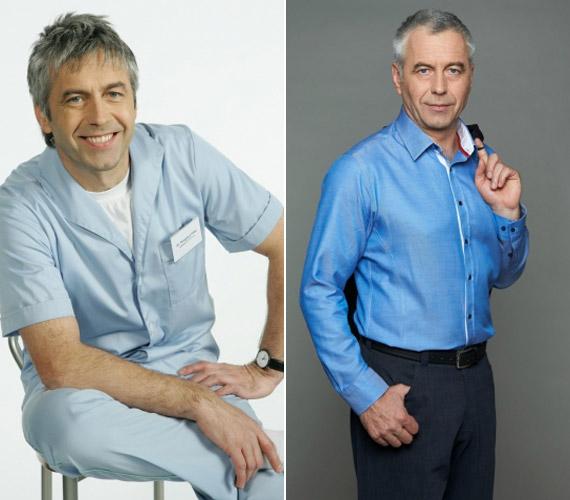A Csillagvirág Klinika igazgató főorvosa, dr. Pongrácz Péter a kezdetektől fogva a sorozat egyik főszereplője, így az őt megformáló Gazdag Tiboron látszik leginkább, hogy eltelt tíz év a sorozat indulása óta.