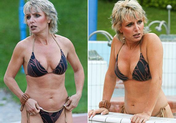 Tallós Rita 2005 és 2008 között erősítette a sorozat stábját. A színésznőnek 50 felett sincs semmi oka panaszra külsejét tekintve.