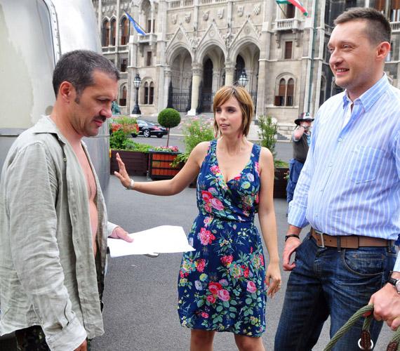 Rogán Antal politikus a feleségével együtt tűnt fel az egyik epizódban.
