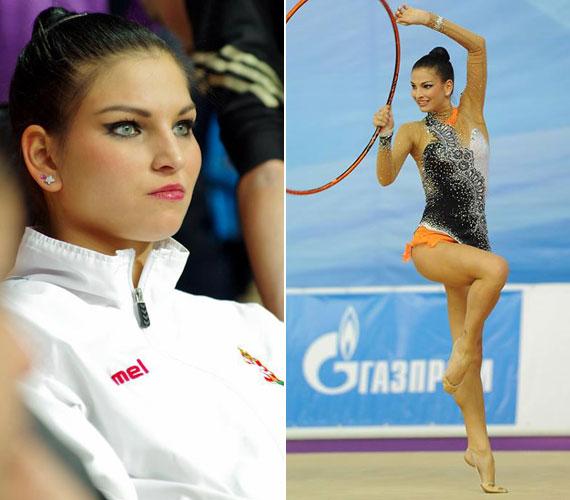 A ritmikus gimnasztikában itthon már 29 alkalommal magyar bajnokit nyert Vass Dóra a verseny alatt is sminkben lép pályára. Tavaly az év legszebb sportolónőjének választotta a közönség az Év sportolója-gálán.