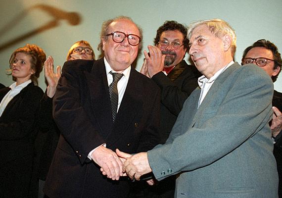 Az 1994-es filmszemlén a Megint tanú rendezőjével, Bacsó Péterrel mutatták be az imént említett produkciót, aminek a főhőse szintén a színész volt.
