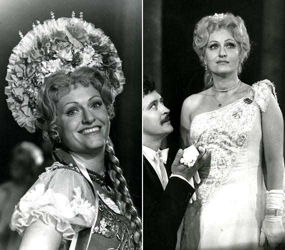 A 69 éves Domonkos Zsuzsa a Csárdáskirálynő Szilviájaként debütált a Fővárosi Operettszínházban. Később Kálmán Imre Marica grófnőjének címszerepét is eljátszhatta. Nemcsak operettekben, hanem operákban is szerepel.