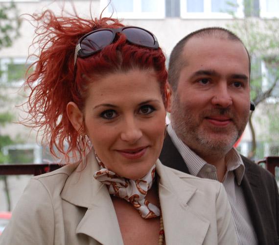 A Jóban Rosszban sorozat színésznője, Madár Vera is ellátogatott a rendezvényre.