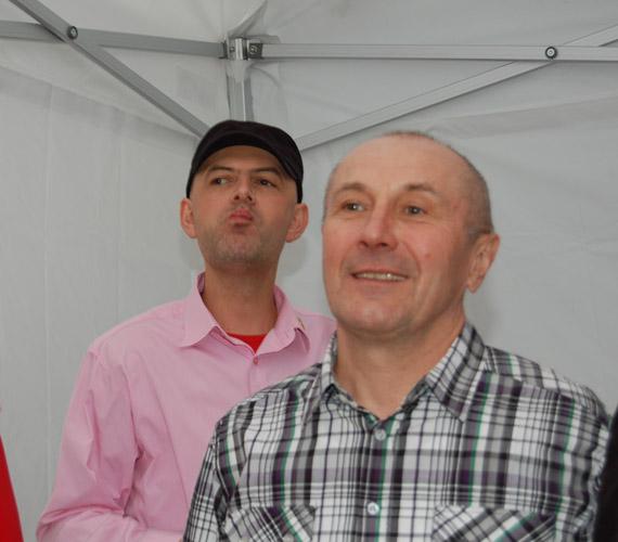 Németh Lajos és Vujity Tvrtko is örömmel fogadta el Kandász Andrea meghívását.