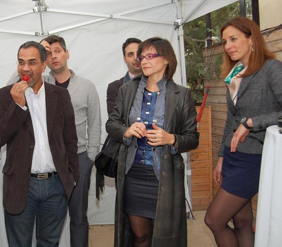 A rendezvényre a sajtó képviselői mellett televíziós kollégái is ellátogattak: ott volt többek közt Joshi Bharat, Kárász Róbert, Krizsó Szilvia és Demcsák Zsuzsa is.