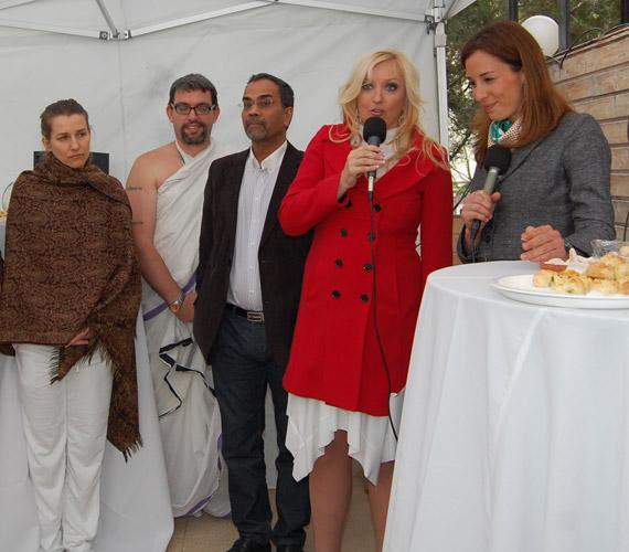 Kandász Andrea március 29-én, egy sajtótájékoztató keretében mutatta be a Yantra Egészség Centrumot.