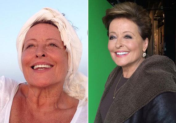 A Vitriol, a Lyukasóra és a Kupidó című műsorok háziasszonya, Kánya Kata megmutatta, hogy 62 évesen smink nélkül is lehet valaki érett, vonzó nő.