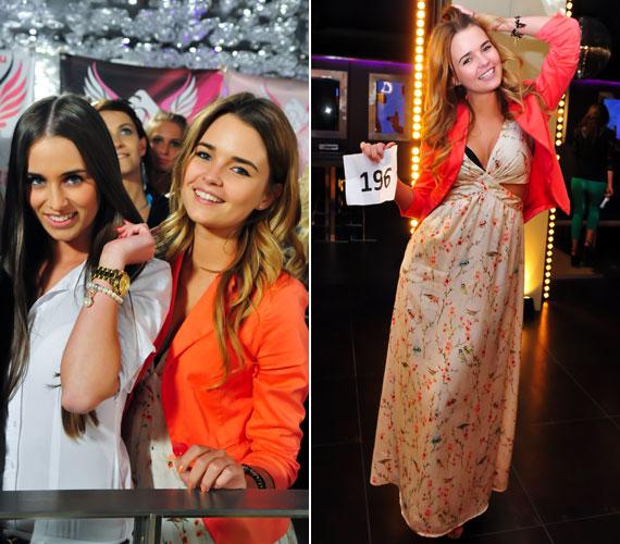 A természetes szépségével hódító lány két barátnőjével együtt került be a TV2 A Szépségkirálynő című műsorába.
