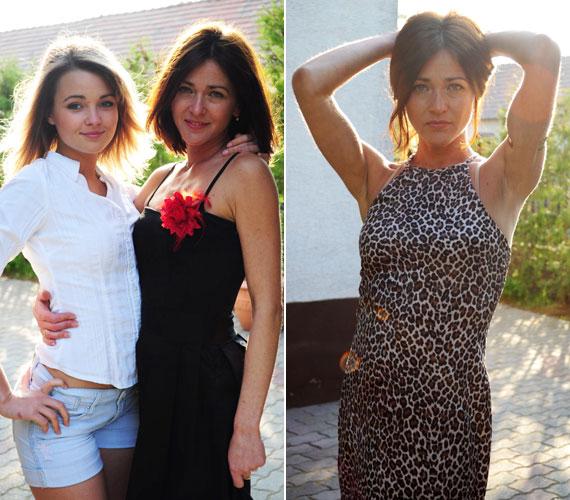 Kenéz Mariann 40 felett is roppant fiatalos, 18 éves lánya mellett Rebeka nővérének is nézhetnék.