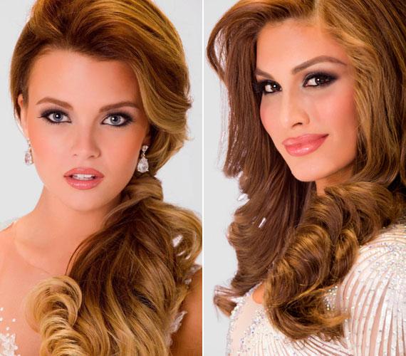 A 19 éves Kárpáti Rebeka és a 25 éves Gabriela Isler portréfotója.