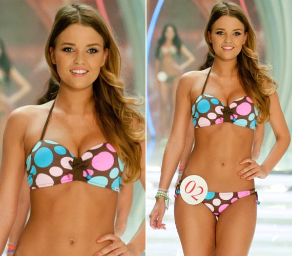 Push up bikinivel pedig igazán dús keblekkel is feltűnést kelthet a strandon, nincs itt szükség szikére.