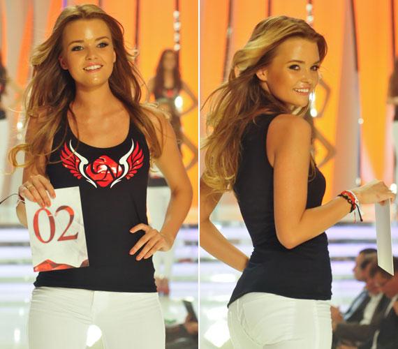 A kékszemű, szőke hajú szépség tavaly a Soltvadkert szépe címet nyerte el, modellként pedig több külföldi reklámfilmben is szerepelt már.