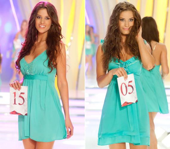 A közönségdíjas Kocsis Korina és Tímár Brigitta, akinek a javára lemondott a Miss Intercontinental Hungary címről.