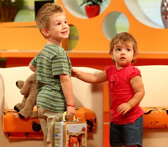 A színész kisfia, Nimród lombikbébiprogram keretében fogant, a nehézségek után kislányuk érkezése dupla örömként érte a szülőket.