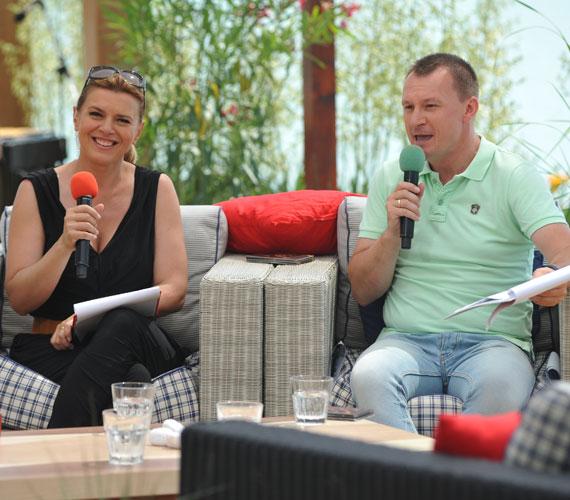 Június 17-én Borbás Marcsi és Szujó Zoltán műsorvezetésével indult el a Balatoni Nyár című műsor idei szezonja.