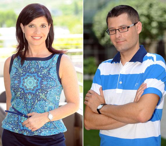 Az ízesen beszélő időjós, Reisz András július második hetében lesz először látható műsorvezetőként Dióssy Klári oldalán.