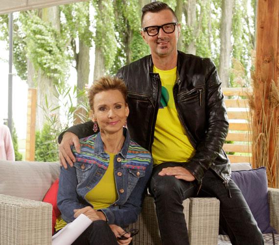 Jakupcsek Gabriella és Csiszár Jenő összeszokott párosa ezen a héten szórakoztatta a nézőket.