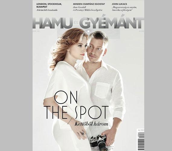 Az On The Spot riporter-műsorvezető párosa, Cseke Eszter és S. Takács András augusztus végén a Hamu és gyémánt címlapját közzétéve a Facebookon tudatták: babát várnak.