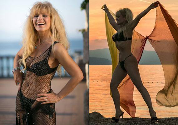 Gondolnád, hogy Bíró Ica májusban ünnepelte az 58. születésnapját? A Metal Ladyt még ma is gyakran felkérik fotózásokra, bikinis fotósorozat legutóbb tavaly készült róla a horvát tengerparton.