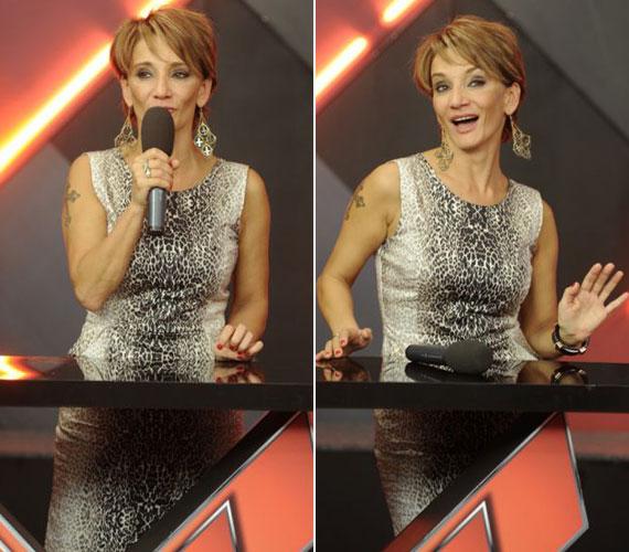 Még hogy a rövid haj nem nőies! Szombat este az RTL II After X című műsorában a nézők is láthatták új frizuráját. Az énekesnőnek utoljára nyolcadikos korában voltak ilyen rövidek a tincsei.