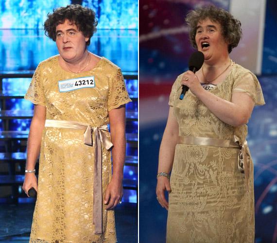 Hevesi Tamás, mint Susan Boyle a Britain's Got Talent tehetségkutató műsor nagy felfedezettje. Az 53 éves szociális munkásból világhírű lett. A zsűri lepontozta, a nézők szerint viszont zseniális volt.