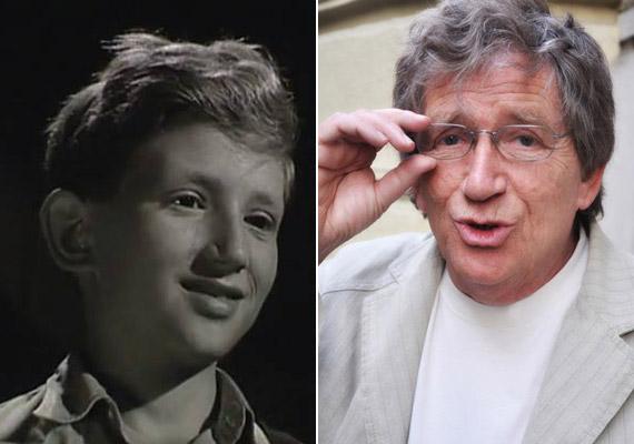 Az első filmfőszerep tízévesen - írta a Facebook-oldalára feltöltött fotó mellé Kern András, aki ekkor a Kaland az Állatkertben című filmben játszott.