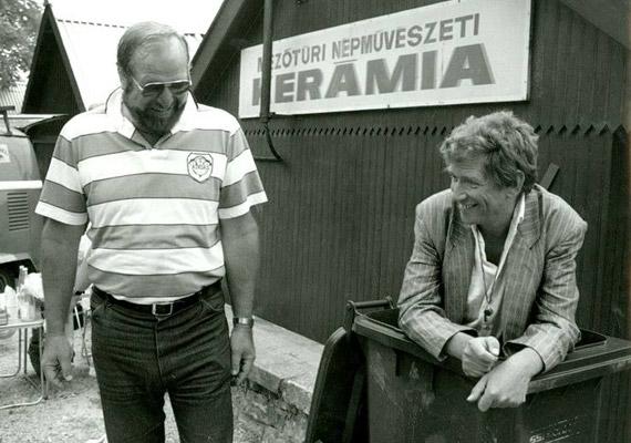 A 2009-ben elhunyt Bujtor István a legendás Ötvös Csöpi szerepében szintén gyakran volt partnere. Közös filmjeik: Pogány Madonna, Csak semmi pánik..., Elvarázsolt dollár, Hamis a baba, Zsaruvér és Csigavér - A királyné nyakéke, Zsaruvér és Csigavér - Több tonna kámfor, Zsaruvér és Csigavér - A szerencse fia.