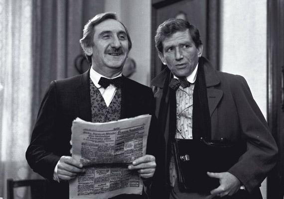 A 2011. december 30-án elhunyt Garas Dezsővel a Tizenötezer pengő jutalom című tévéjátékban 1985-ben.