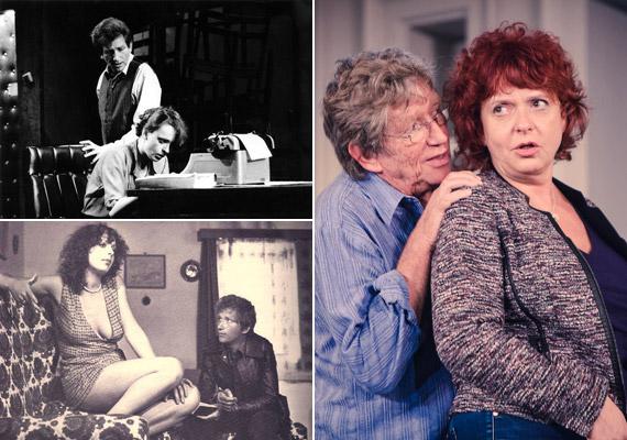 Hernádi Judit a színpadon és a kamerák előtt is többször volt partnere: Murray Schisgal Gépírók című darabjában, melyet a Vígszínház 1984 decemberében mutatott be, 1980-ban a Pogány Madonna című filmben, valamint a 2013 októberében bemutatott Hitted volna? című darabban, melynek Verebes István a rendezője.