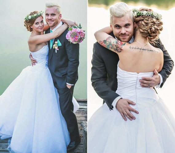 A Hooligans basszusgitárosa, Késmárki Zsolt szeptember 12-én vettel feleségül szerelmét, Esztert. Két éve élnek már együtt, az esküvőt tervezték egy ideje.