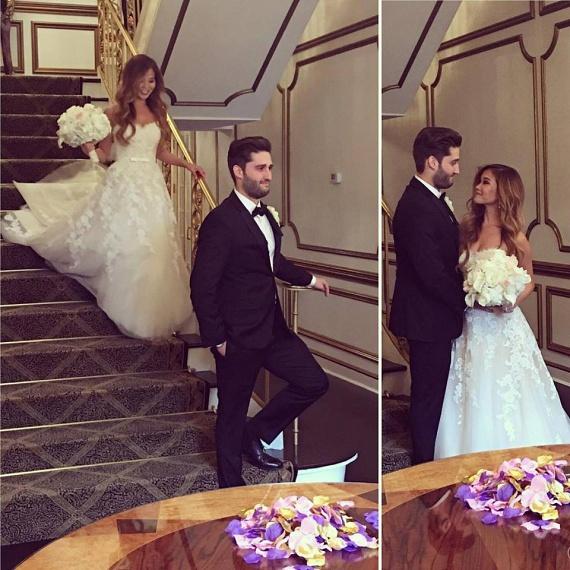 Király Viktor ikertestvére New Yorkban vette feleségül szerelmét, az esküvőn természetesen az egész család jelen volt.