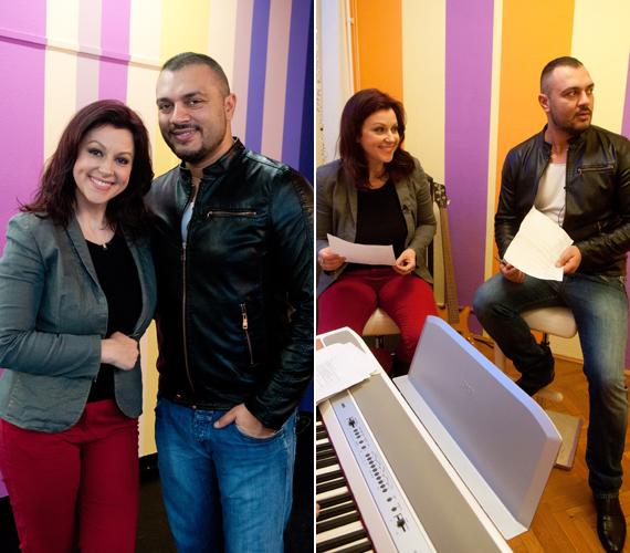 Gáspár Laci szerint Erdélyi Mónikából hamarosan igazi énekesnő válhat.
