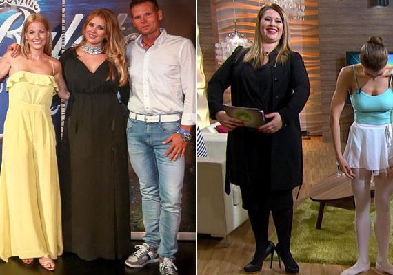 Király Linda a hétvégi Miss Balaton zsűritagjaként és január végén a FEM3 Café műsorvezetőjeként - tudjuk, hogy a mell alatt végződő ruhák karcsúsítanak, a tévé képernyője pedig kövérít, de szerintünk néhány kiló mínusz eltérés is van a két kép között.