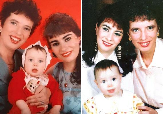Kiszel Tünde szülei már meghaltak, egy szem gyermeke és nővére, az orvosként praktizáló Kiszel Csilla jelenti számára a családot. Lánya, Donatella 2001-ben, 15 ével ezelőtt született, a fotókon még csecsemőként látható.
