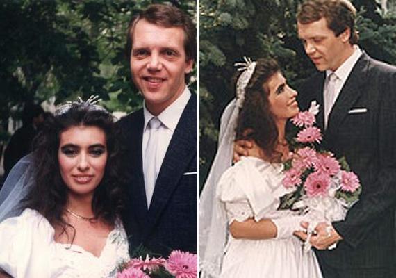Kiszel Tünde a húszas éveiben igazán szép menyasszony volt. Az esküvő után három évvel a naptárdíva rájött, hogy férjével nagyon különböznek egymástól, így véget vetettek házasságuknak. Tünde ma is szeretettel gondol volt férjére, de már nem tartják a kapcsolatot.