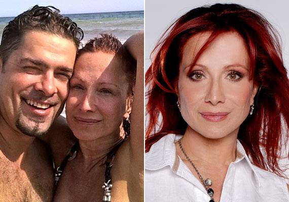 Détár Enikő is vállalja smink nélküli arcát, a színésznő a párjával megejtett spanyolországi nyaraláson a tengerpartra természetesen nem festette ki magát.